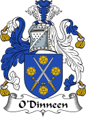 Irish Coat of Arms for O'Dinneen
