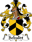 German Coat of Arms for Sebaldt