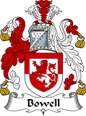 English Coat of Arms for Bowell