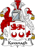 Irish Coat of Arms for Kavanagh
