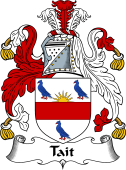 English Coat of Arms for Tait