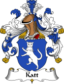 German Wappen Coat of Arms for Katt
