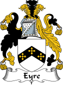 Irish Coat of Arms for Eyre