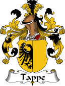 German Wappen Coat of Arms for Tappe