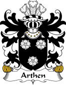 Welsh Coat of Arms for Arthen (AP SEISYLL)