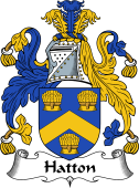 English Coat of Arms for Hatton