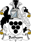 English Coat of Arms for Botham