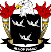 American Coat of Arms for Alsop