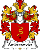 Polish Coat of Arms for Ambrozewicz