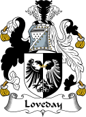 English Coat of Arms for Loveday