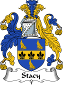 English Coat of Arms for Stacy (e)