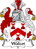 English Coat of Arms for Walcot