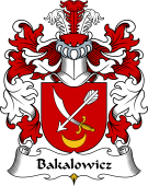 Polish Coat of Arms for Bakalowicz