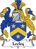 Irish Coat of Arms for Lecky