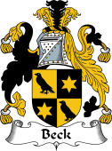 English Coat of Arms for Beck