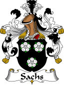 German Wappen Coat of Arms for Sachs