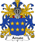 Italian Coat of Arms for Amato