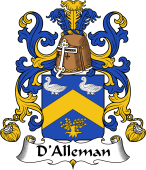 Coat of Arms from France for Alleman (d')