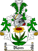 Dutch Coat of Arms for Blom