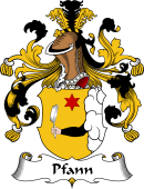 German Coat of Arms for Pfann