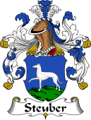 German Wappen Coat of Arms for Steuber
