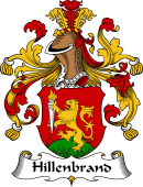 German Wappen Coat of Arms for Hillenbrand