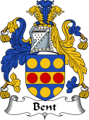 English Coat of Arms for Bent