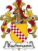 German Coat of Arms for Bachmann