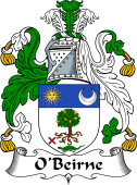 Irish Coat of Arms for O'Beirne