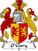 Irish Coat of Arms for O'Clary