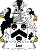 English Coat of Arms for Lee