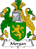 English Coat of Arms for Morgan III (Wales)