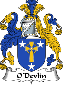 Irish Coat of Arms for O'Devlin