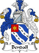 English Coat of Arms for Bendall