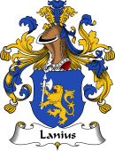 German Wappen Coat of Arms for Lanius