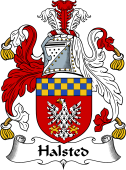 English Coat of Arms for Halsted