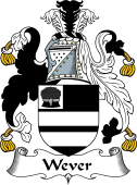 English Coat of Arms for Wever