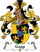 German Wappen Coat of Arms for Gagg
