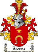 Dutch Coat of Arms for Arends