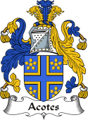 Irish Coat of Arms for Acotes