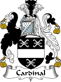 English Coat of Arms for Cardinal (l)