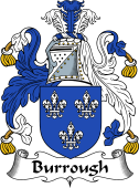 English Coat of Arms for Burrough