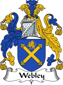 English Coat of Arms for Webley