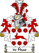Dutch Coat of Arms for de Haas