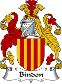 Irish Coat of Arms for Bindon