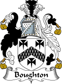 English Coat of Arms for Boughton