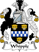 English Coat of Arms for Whipple
