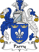 Irish Coat of Arms for Parry