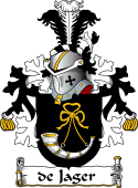 Dutch Coat of Arms for de Jager
