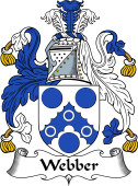 English Coat of Arms for Webber